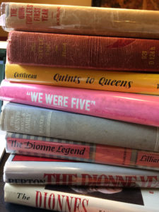 Dionne Quintuplet Biographies and Memoirs