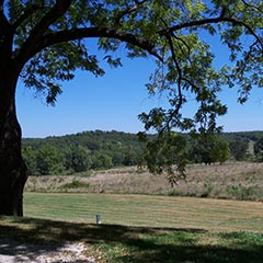 Rocky Ridge farmland, Mansfield, Missouri.